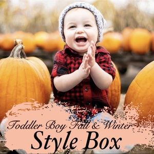 TODDLER BOY | FALL & WINTER STYLE BOX 15 PIECES